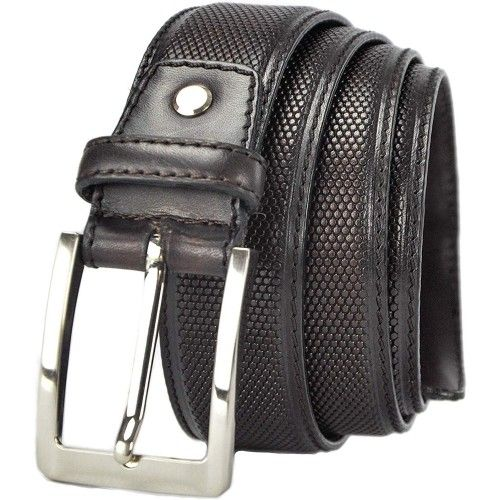 Leather Belt with 1,37...
