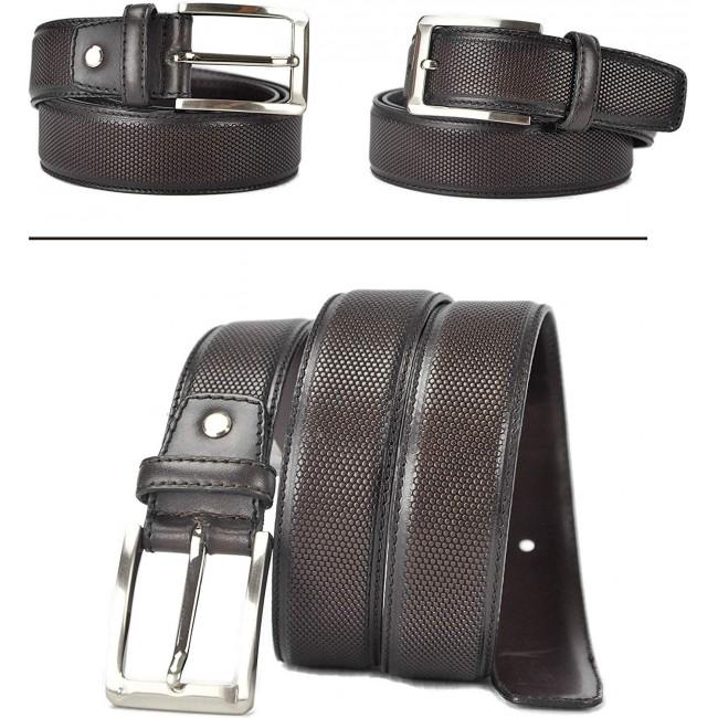 Cinturón de piel 4 cm de ancho estilo elegante-2