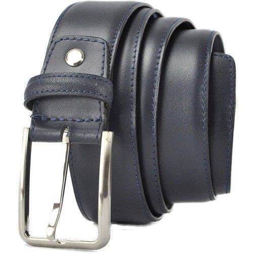 Leather Belt with Anti...