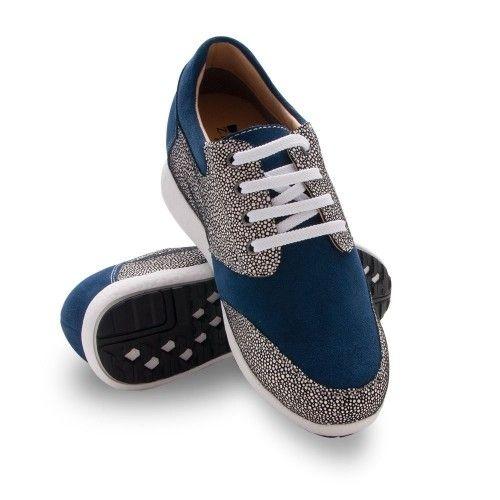 Zapatos deportivo bicolor...