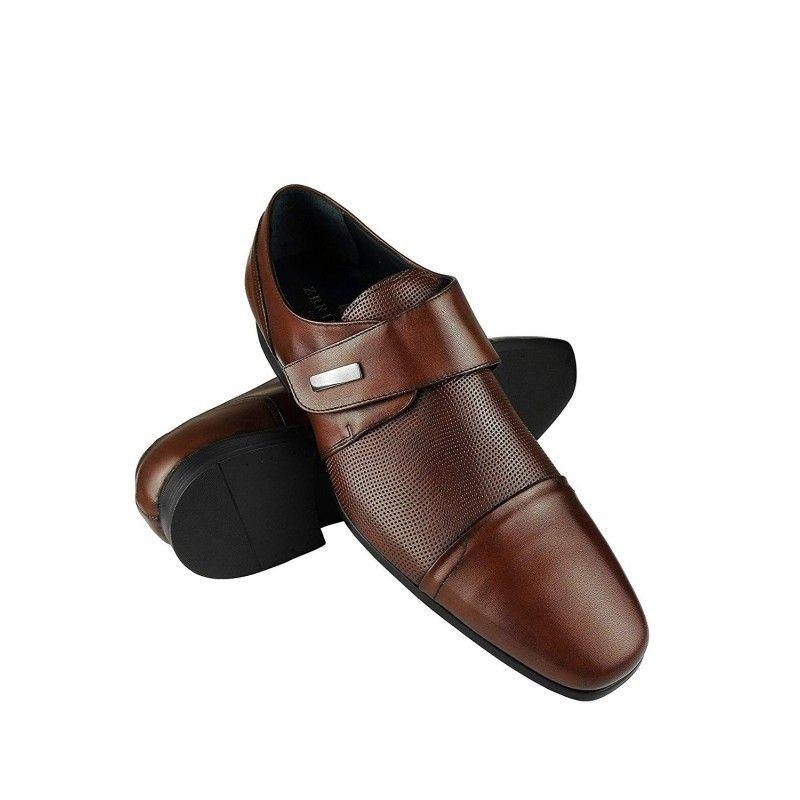 Zapatos de vestir con alzas para hombre que Aumentan su Altura 7 cm