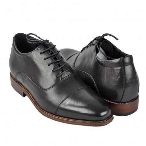 Zapatos de piel con alzas...