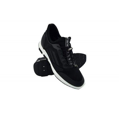 Sneakers de piel casuales...