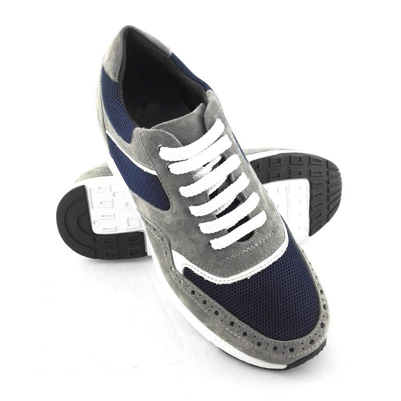 Men Leather Shoes, Elevator Shoes 2,7 in, Sport Shoes for Men 2