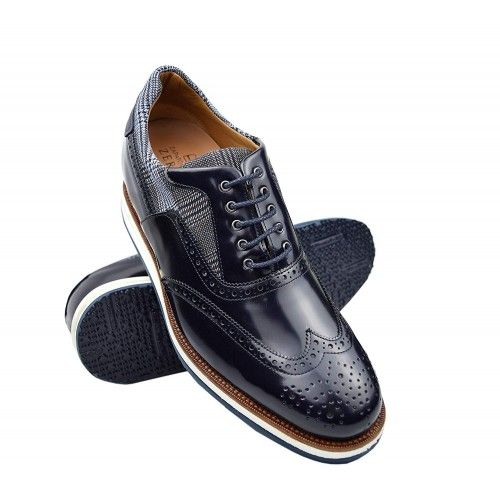 Leather Shoes Men, 2,7 in,...