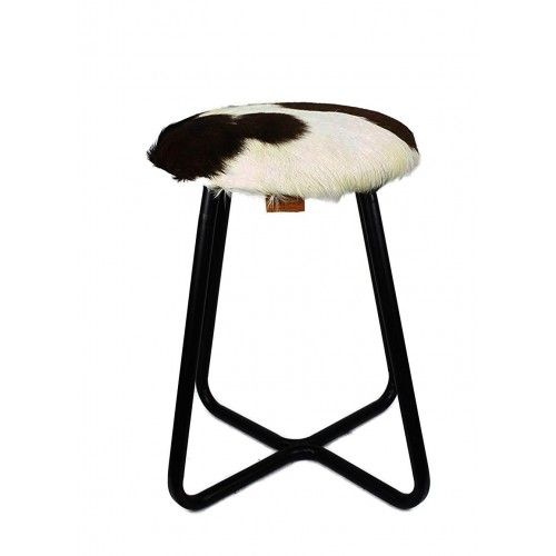 Goathide Metal Stool,...