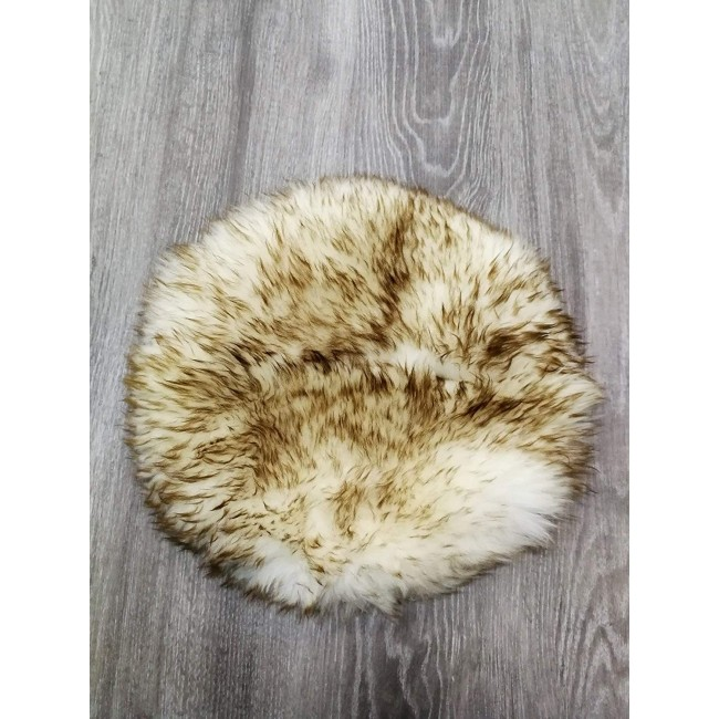 Lambskin Cushion, 15 in, Leather Cushion Covers, Bedroom Cushions