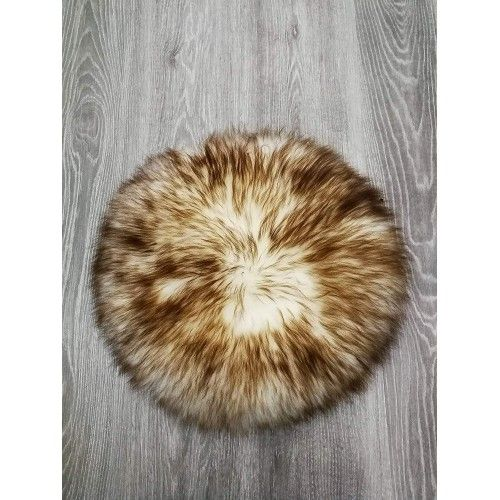 Lambskin Cushion, 45 in,...