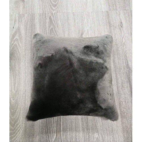 Lambskin Cushion, 15x15 in...