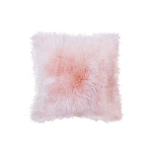 Lambskin Cushion 15x15 in,...
