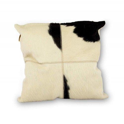Coussin peau de vache...