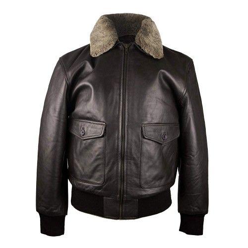 Lamb Leather Jacket Men,...