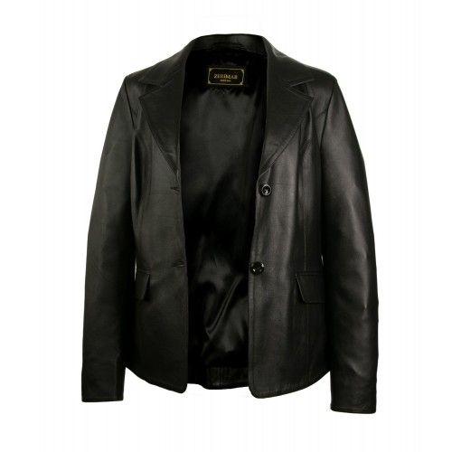 Leather blazer for women...