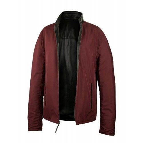 Unisex reversible leather...