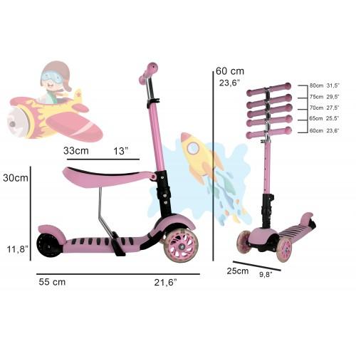Roller und 3-Rad-Laufrad -...