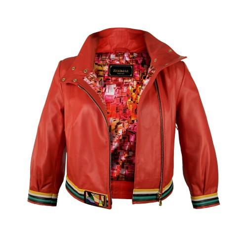 PICASSO leather jacket