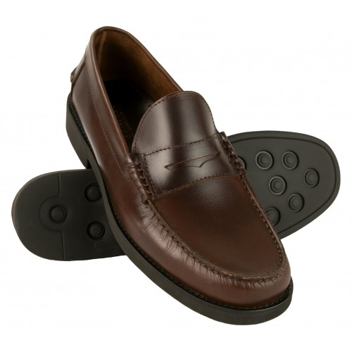 Light men's moccasins with...
