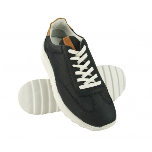 CREW leather sneakers