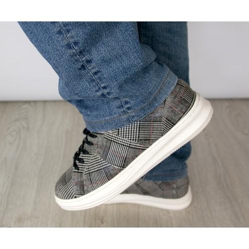 Sneakers de piel modelo...