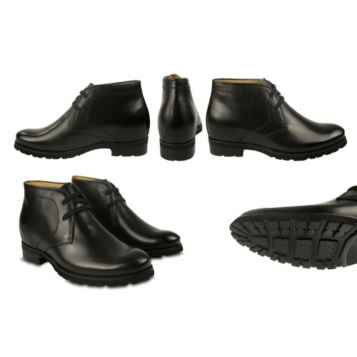 Botas de piel con alzas...