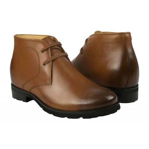 Męskie skórzane buty 7,5...