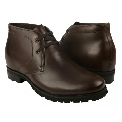 Męskie skórzane buty, które...