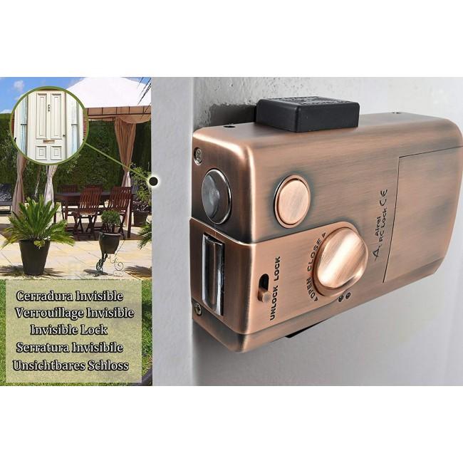 Cerradura Electronica Inteligente Invisible con 4 Mandos