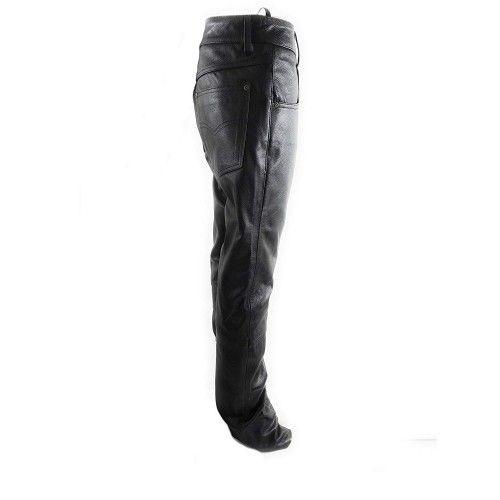 Pantalon de piel para mujer...