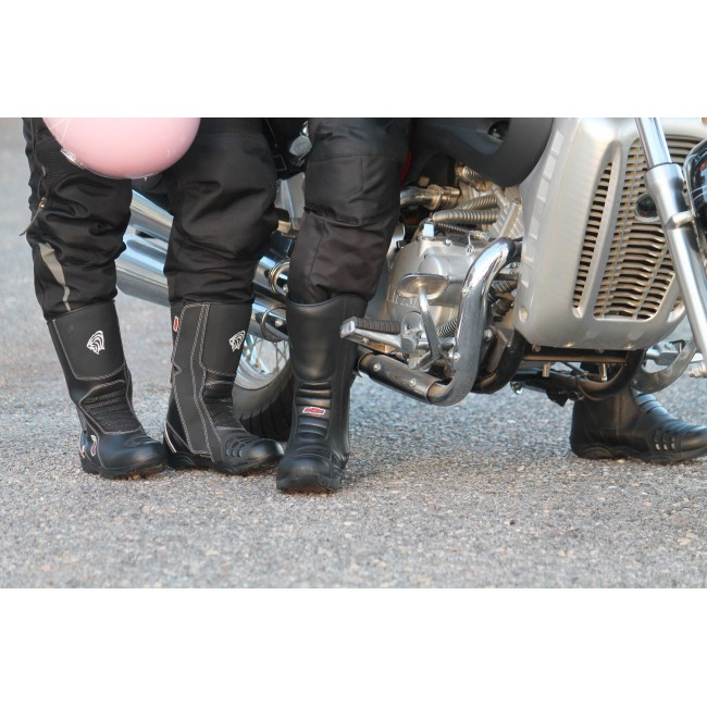 Leather Boots for Motorcycle, Motorcycle Leather Boots, Boots Moto