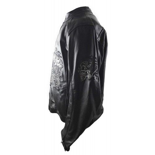 Motorcycle Leather Jacket...