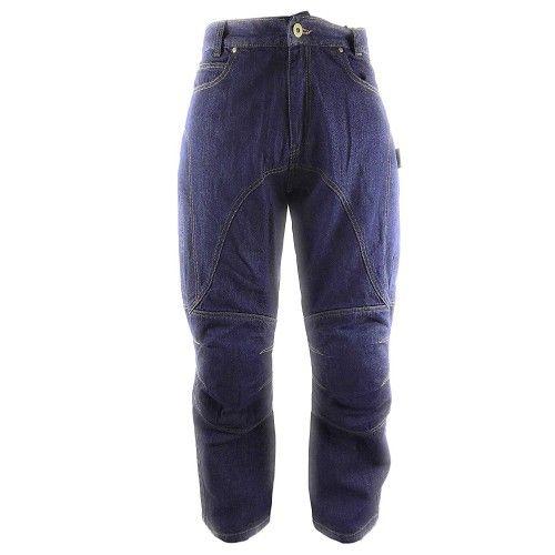 Pantalones tejanos de moto...