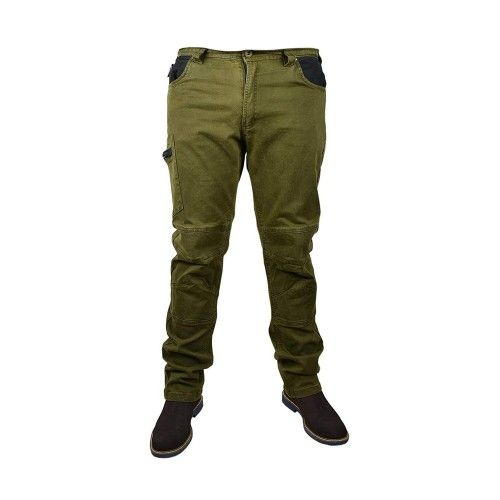 Kaky hiking pants with pockets