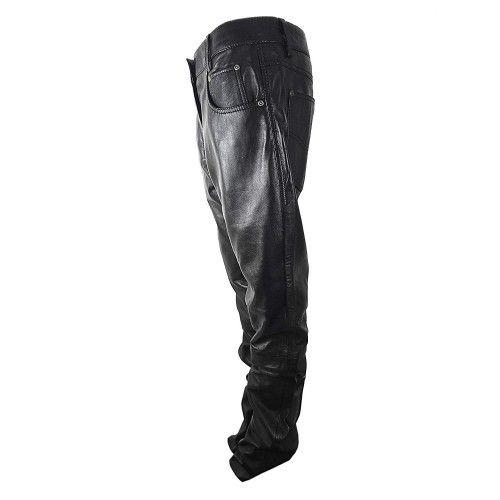 Pantalon de cuero para moto