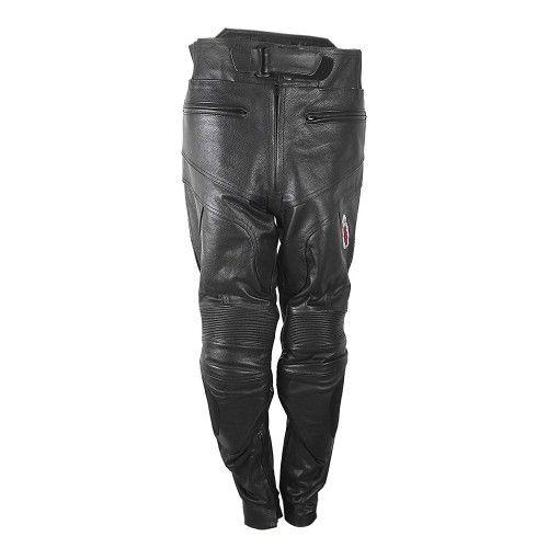 Pantalon de cuero con...