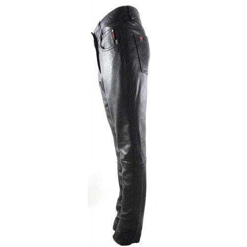 Pantalon de cuero para moto...