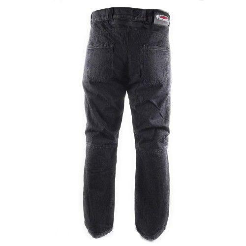 Jeans da moto neri