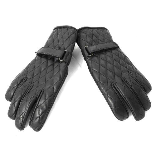 Leather motorcycle glove...