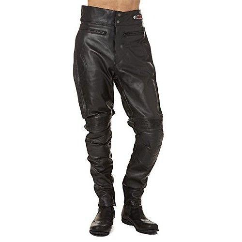 Pantaloni da moto in pelle