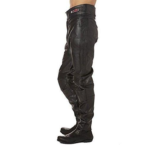 Pantalon moto en cuir