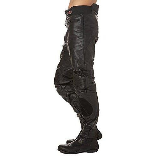 Pantalon de piel de moto...
