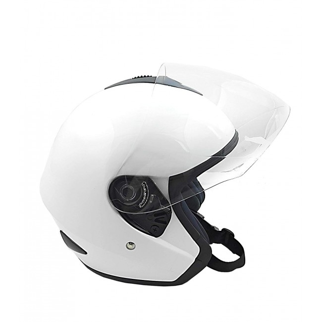 Casco para moto tipo Jet en color Blanco