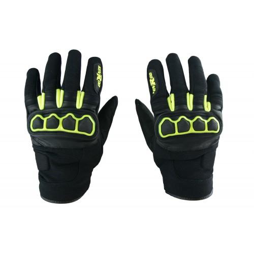 Skórzane rękawice...