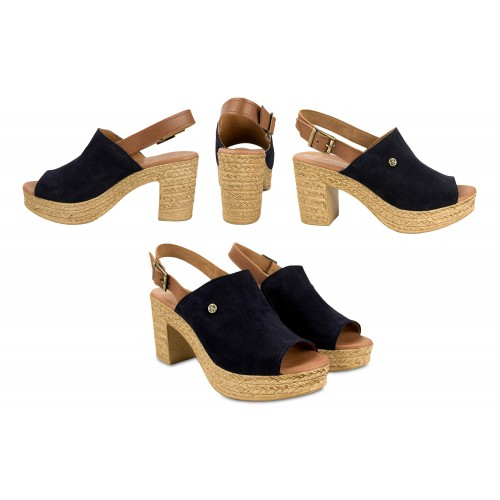 Zoccoli clogs in pelle con...