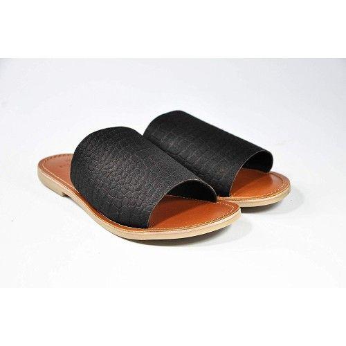 Skórzane sandały damskie,...