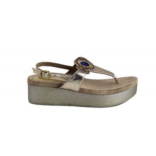 Sandalias elegantes de piel...