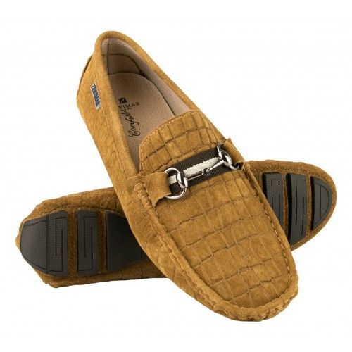 Leather Mocassins Men,...