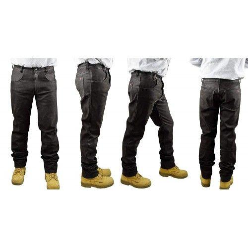 Damskie spodnie z nubuku,...
