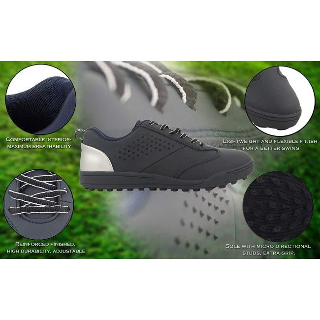 Leather Golf Shoes for Men, Sport Shoes Men, Casual Shoes for Men 2
