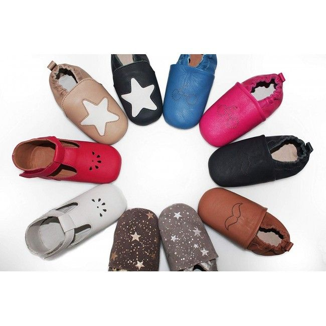 Soft Leather Baby Shoes, First Walking Shoes, Children Shoes Leather 4