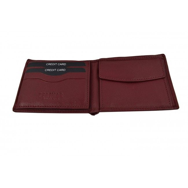 Leather Wallet for Men, Leather Wallet with Coin Pocket, Men Wallet 2